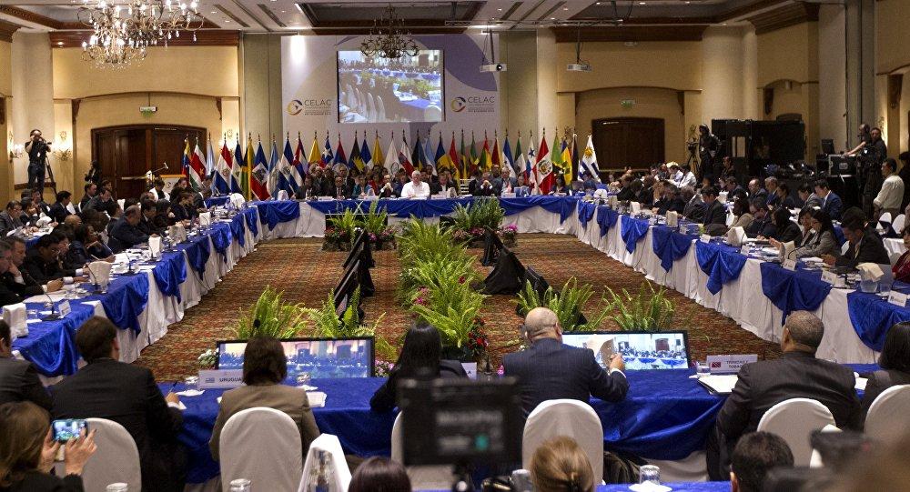 Comunidade dos Estados Latino-Americanos e do Caribe (CELAC) reúnem-se em Quito