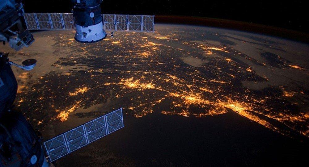 Terra vista da Estação Espacial Internacional (EEI)