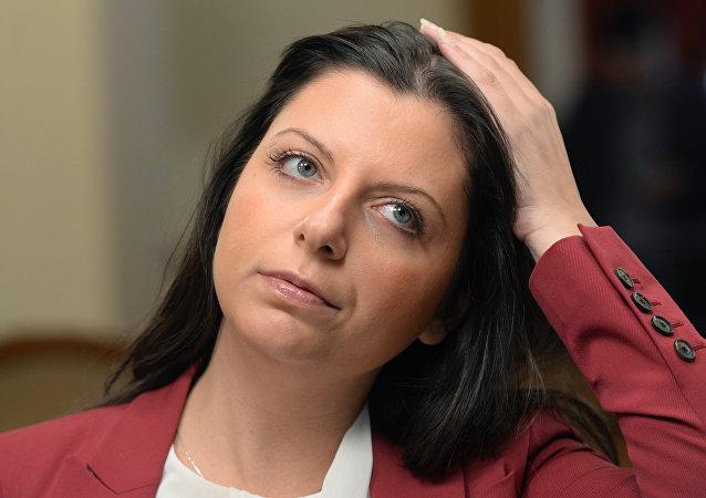 Margarita Simonyan, redacEditora-chefe da agência de notícias Sputnik, Margarita Simonyan