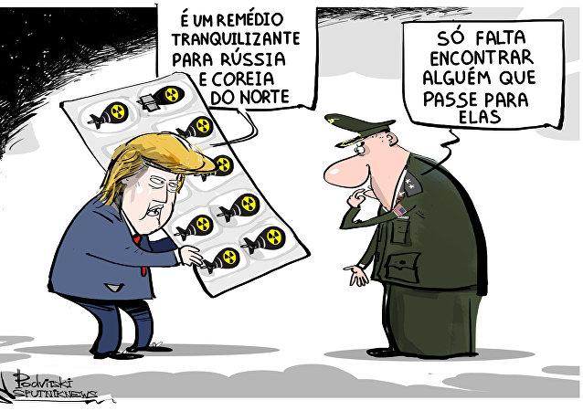 Minibombas nucleares para grande jogo geopolítico dos EUA