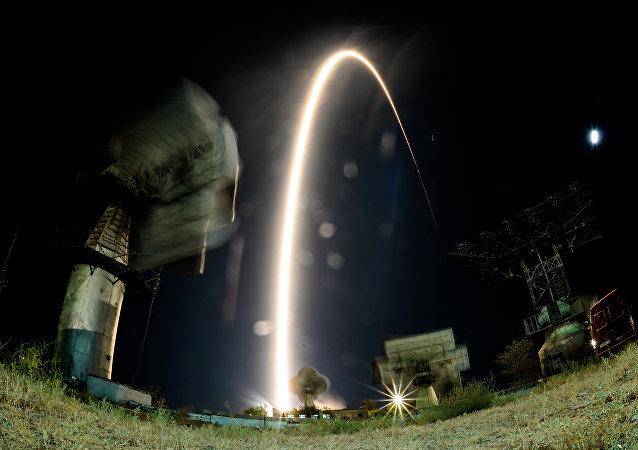Lançamento da nave espacial Soyuz MS-06, Baikonur, Cazaquistão