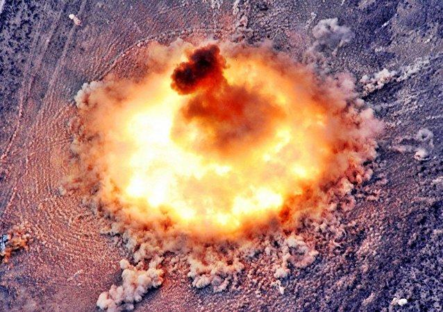 Explosão termobárica