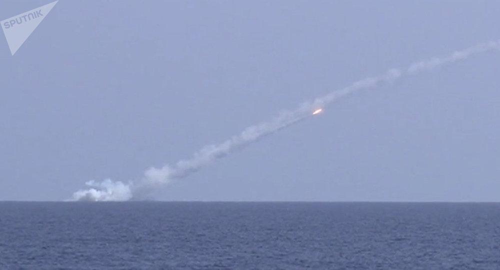 Submarinos russos lançam mísseis Kalibr contra alvos do Daesh (foto de arquivo)
