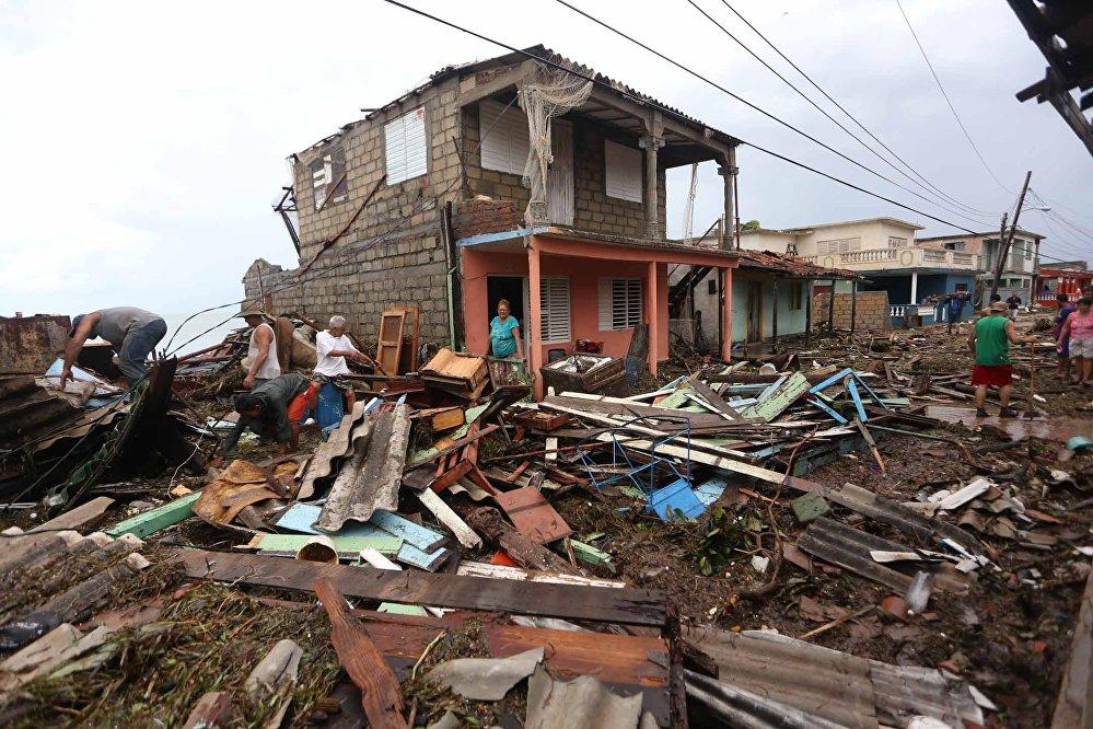 Consequências do furacão Irma em Cuba