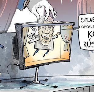 Guerra com a Rússia? Parece filme de Hollywood!
