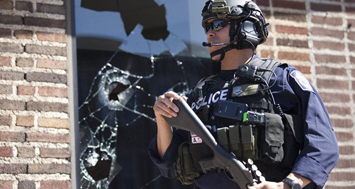 Policial norte-americano (foto de arquivo)