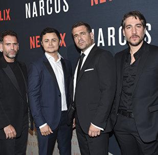 Premiere de Narcos em Nova York.