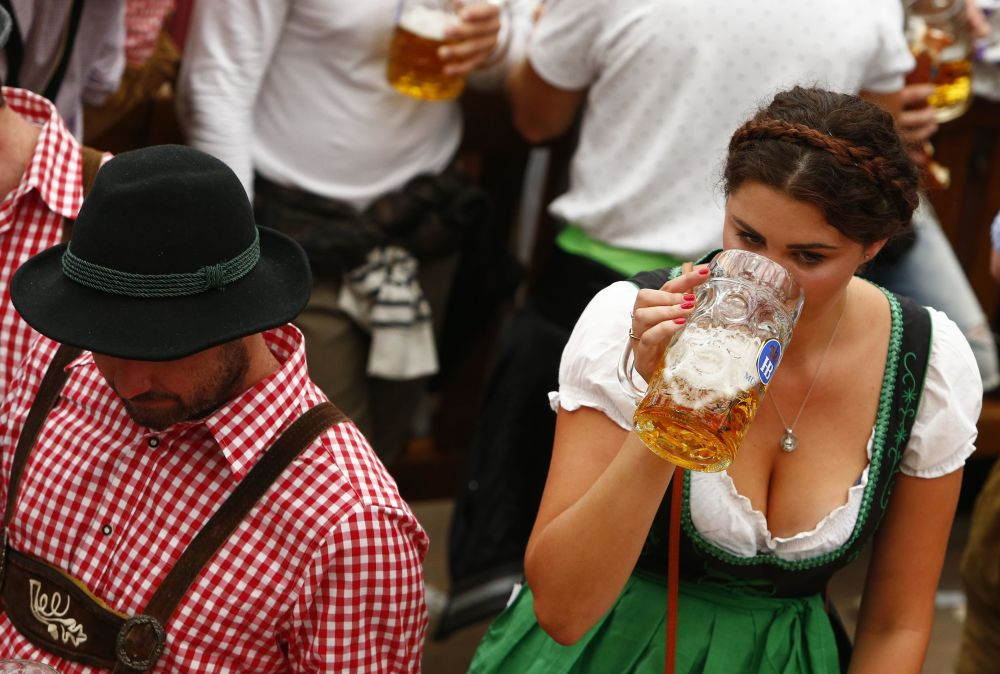 Festival da cerveja Oktoberfest em Munique