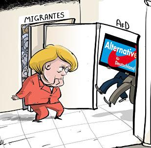 Quando junto com os migrantes chega a direita