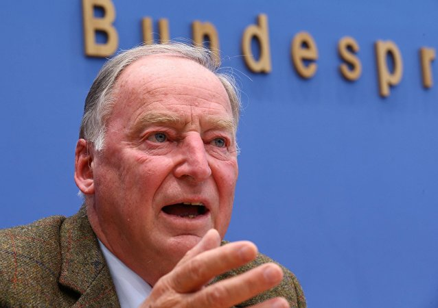 Alexander Gauland, da Alternativa para Alemanha (AfD)