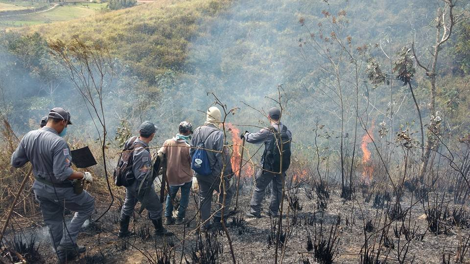 A Prefeitura de Bananal, que fica na região da serra, chegou a decretar emergência.