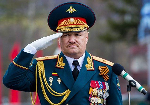 Tenente-general russo, Valery Asapov (foto de arquivo)
