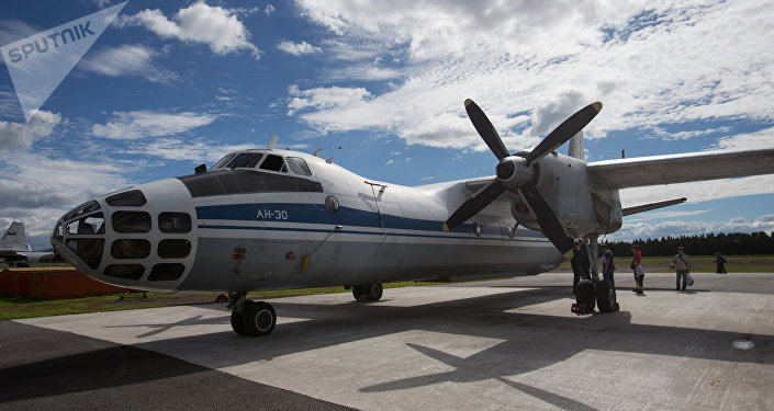 Avião russo de vigilância An-30B (foto de arquivo)