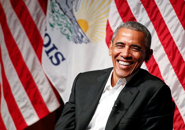 Barack Obama em abril de 2017.