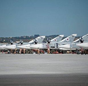 Aviões da Força Aeroespacial russa na Síria