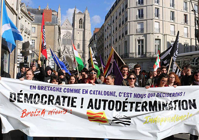 Movimento pede a separação da região da Bretanha da França