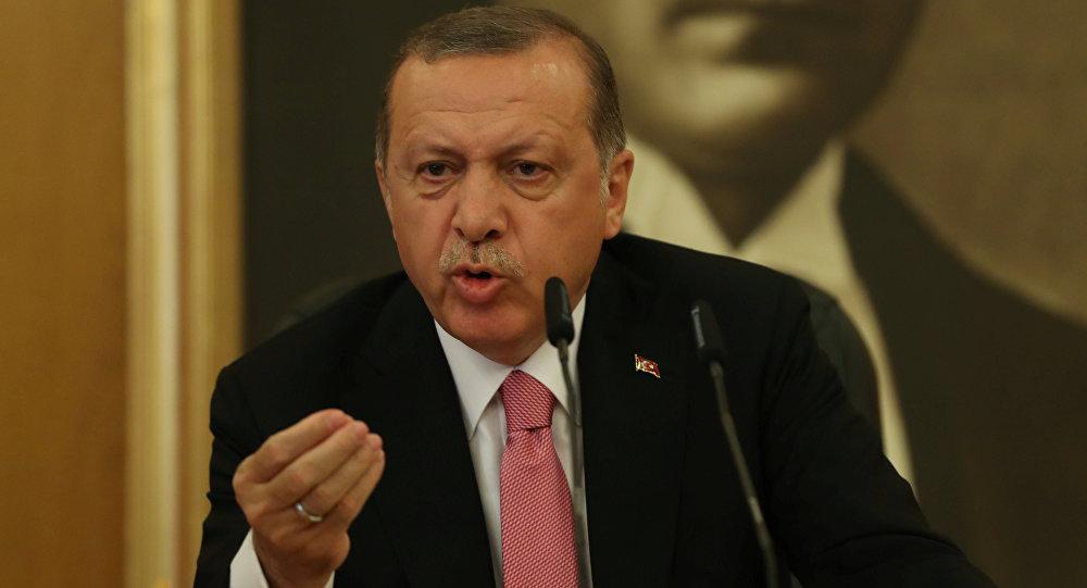 Recep Tayyip Erdogan, presidente de Turquia (foto de arquivo)