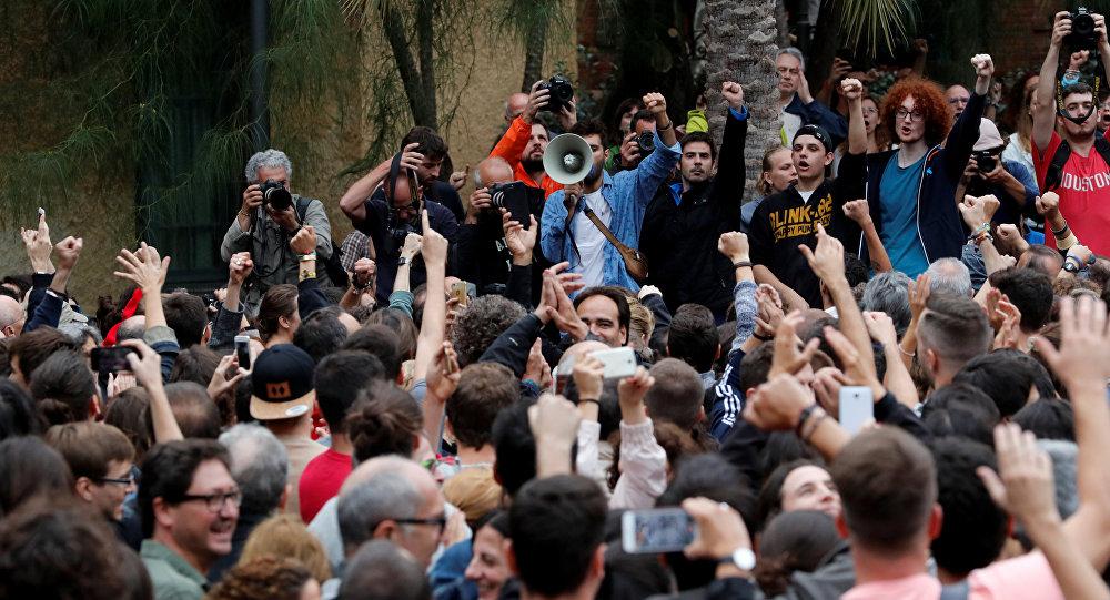 Situaición en Barcelona