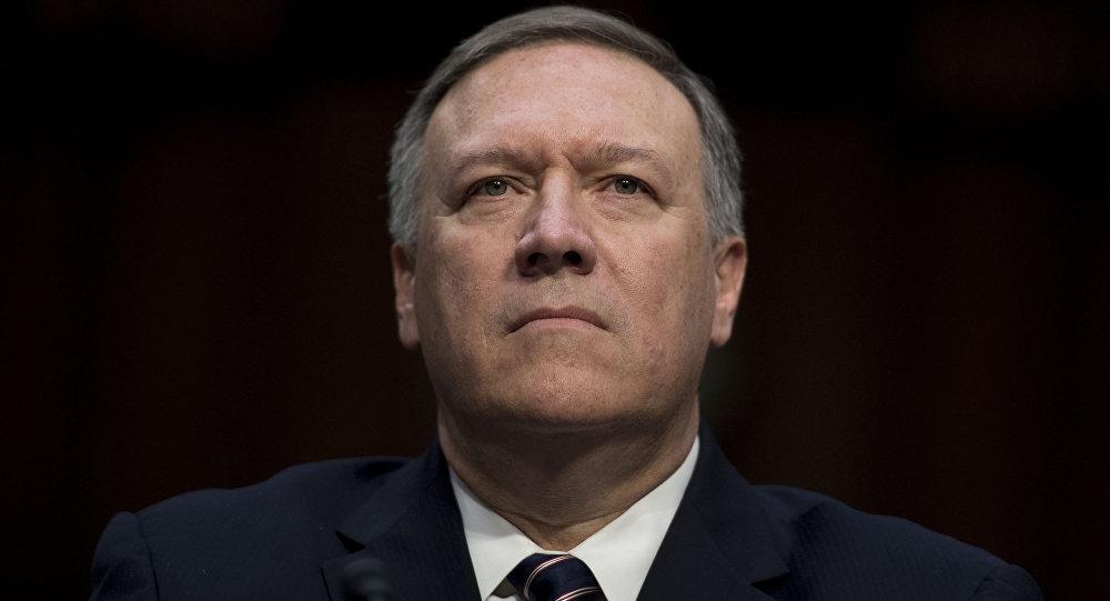 Mike Pompeo, diretor da CIA