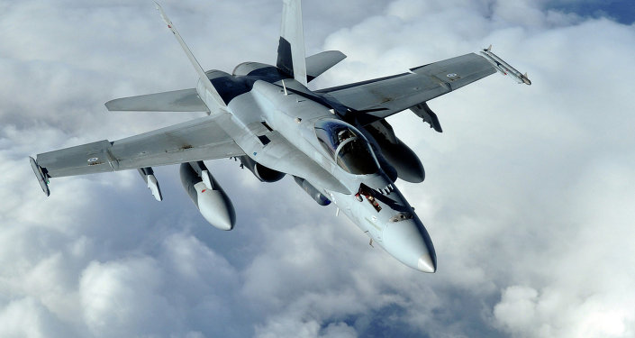 Caça F-18 Hornet