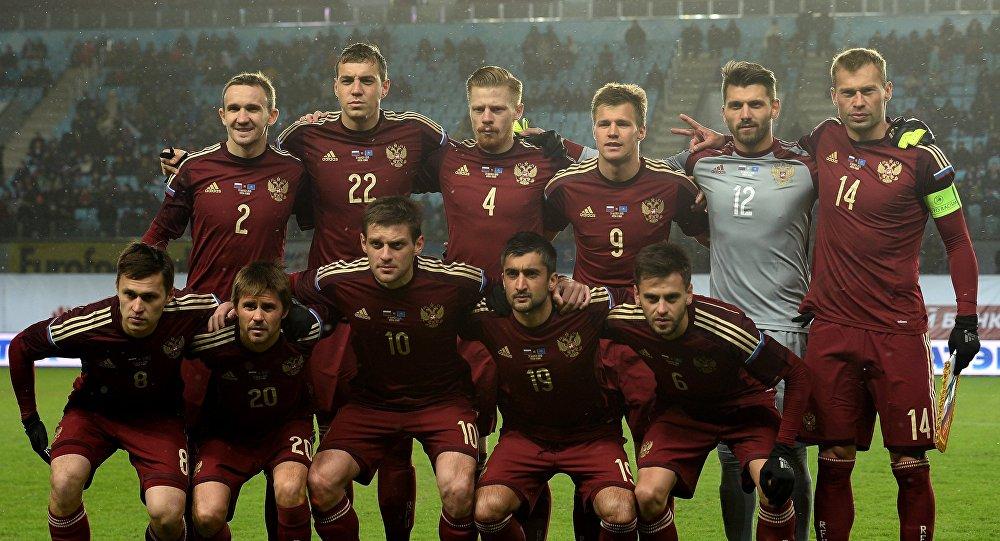 Seleção russa de futebol.