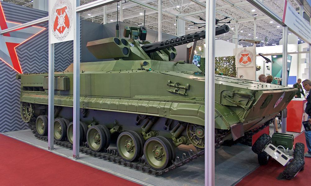 Robô de combate russo Vikhr