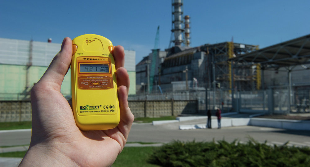 Zona exclusiva de Chernobyl na véspera do 27o aniversário do desastre
