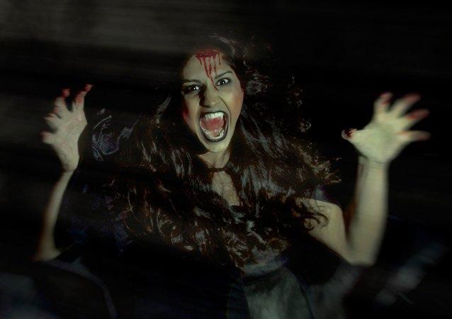 Uma vampira (imagem ilustrativa)