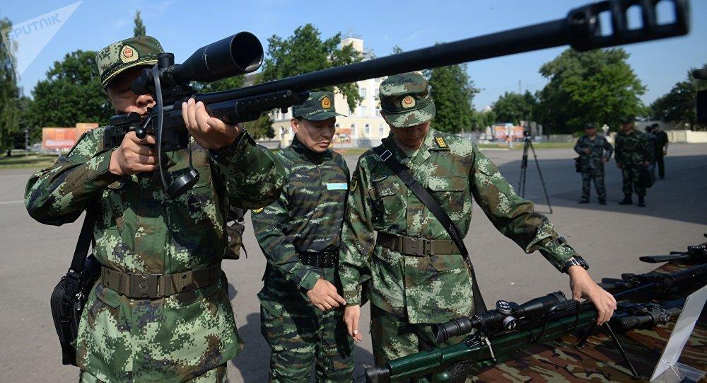 Inauguração dos exercícios táticos conjuntos das forças especiais da Guarda Nacional da Rússia e da Polícia Armada do Povo da China (PAP) Cooperação-2016 (foto de arquivo)