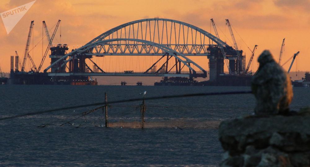 Ponte da Crimeia (foto de arquivo)