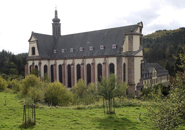 Mosteiro de Himmerod, no distrito de Bernkastel-Wittlich, no estado alemão da Renânia-Palatinado