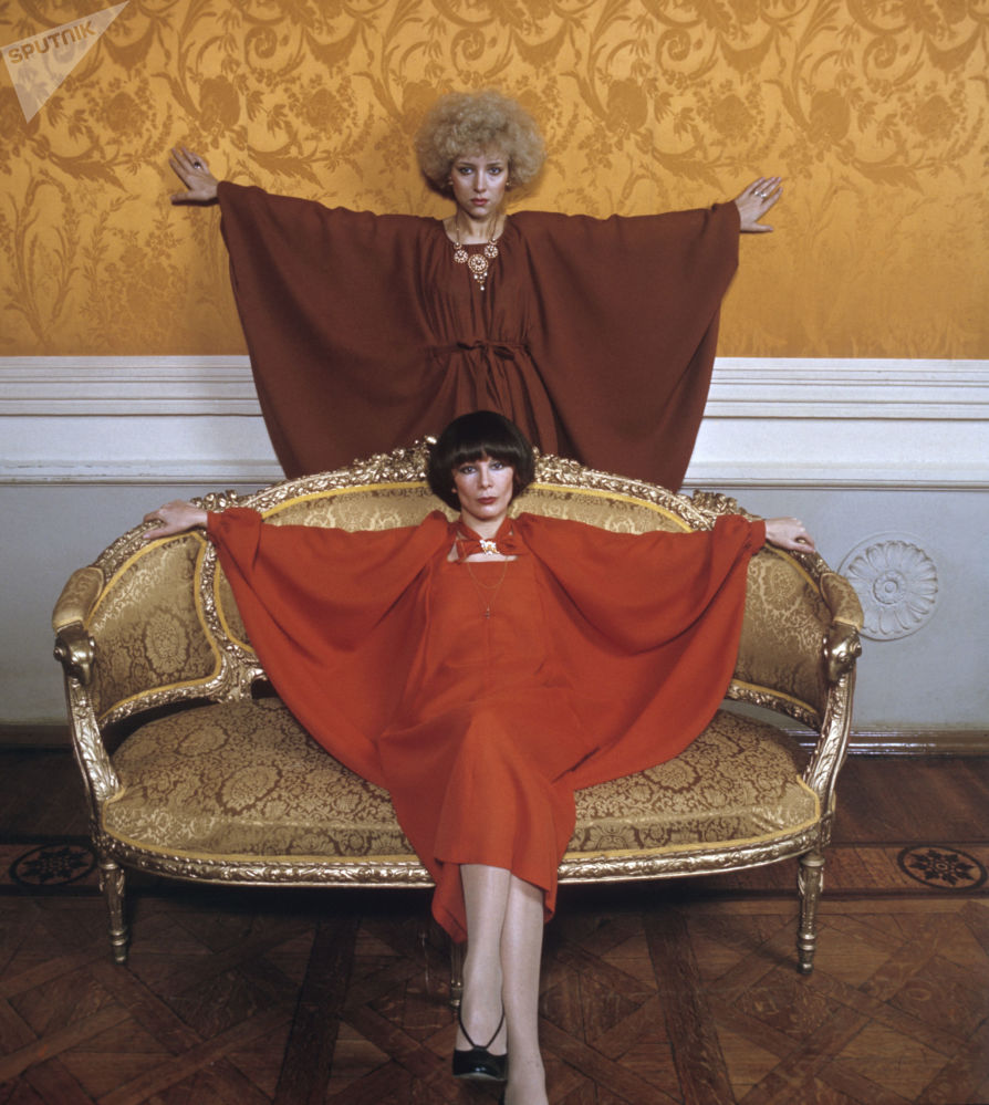Modelos da Casa da Moda da URSS, 1978