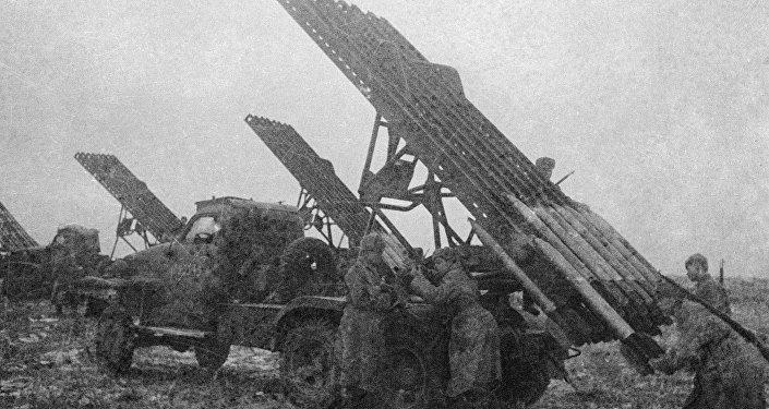 Lançador de foguetes Katyusha