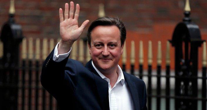 Ex-primeiro ministro britânico David Cameron