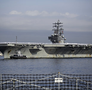 USS Ronald Reagan, foto de arquivo