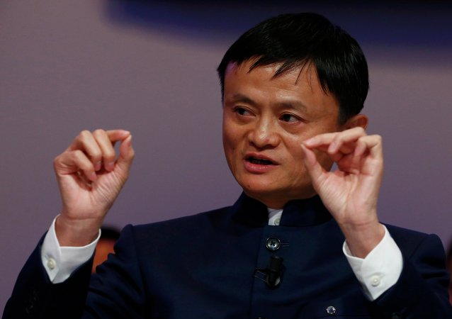 O fundador do Alibaba, Jack Ma
