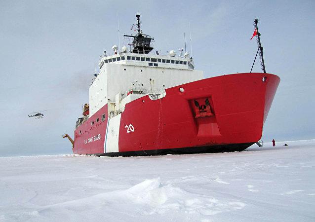 Quebra-gelo Healy da Guarda Costeira dos EUA que entrou em serviço em 2007 (foto de arquivo)