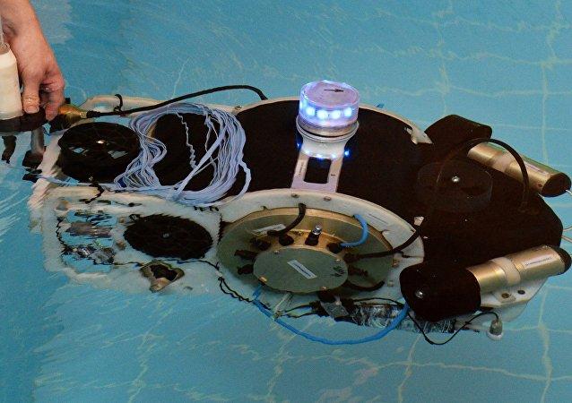 Robô submarino russo, foto de arquivo
