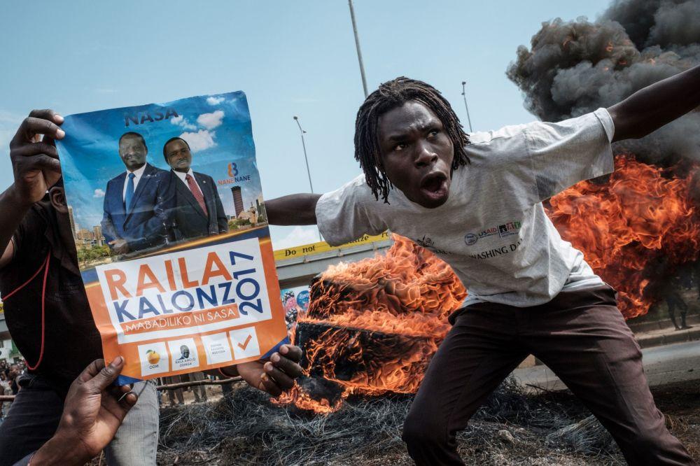 Ação de protesto no Quênia