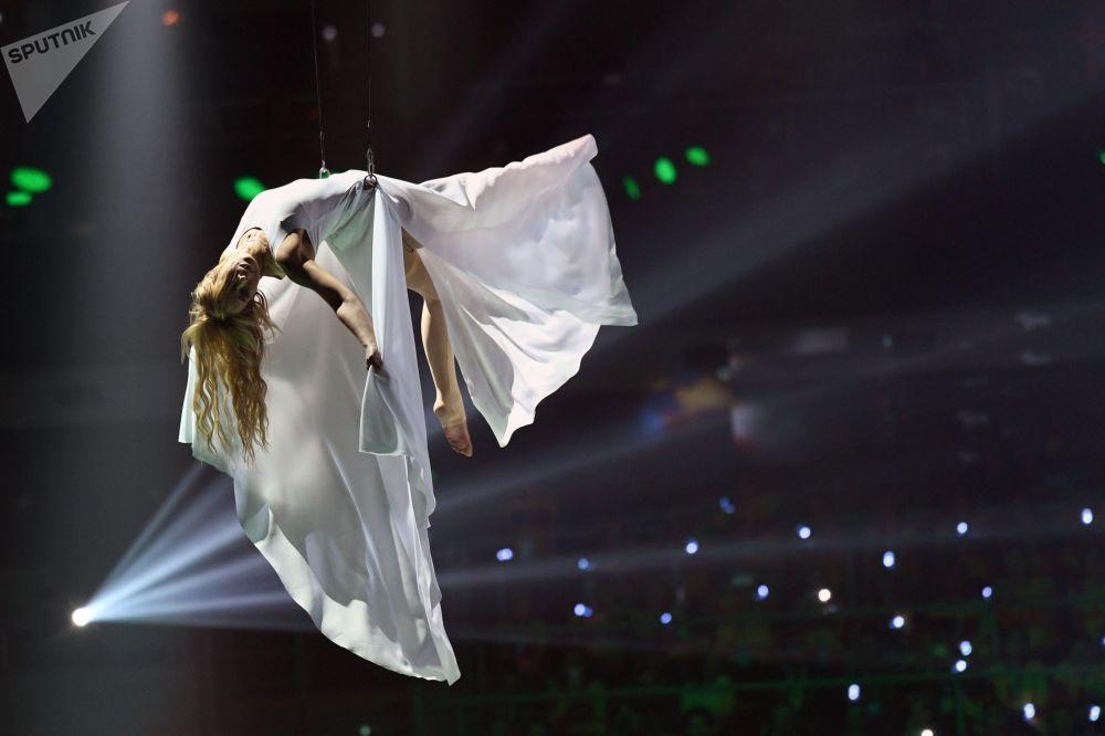 Show realizado no âmbito do XIX Festival Internacional da Juventude
