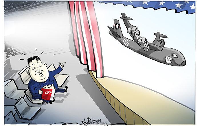 Coreia do Norte está com pipoca pronta para assistir ao alvoroço norte-americano