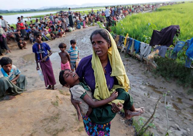 Refugiados rohingya em Mianmar
