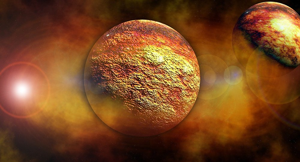 Planetas vulcânicos