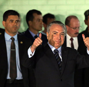 Michel Temer, presidente do Brasil