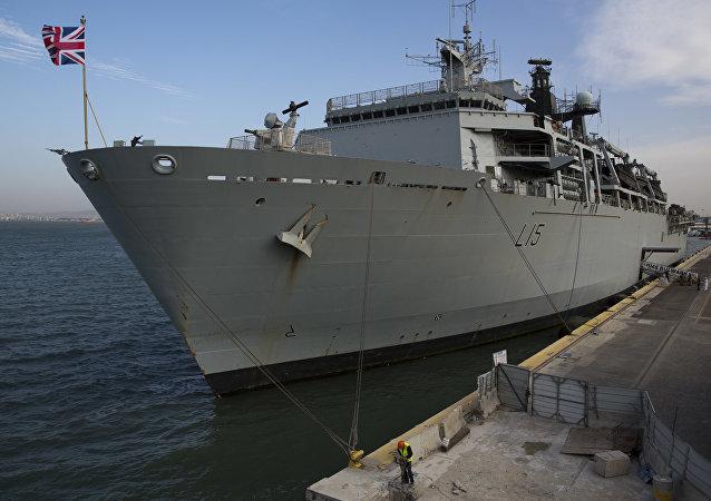 HNS Bulwark da Marinha da Grã-Bretanha