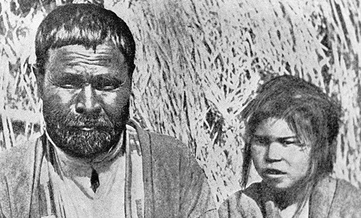 Os ainus, povo indígena das Curilas