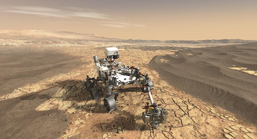 Veículo robótico da NASA que estuda o Planeta Vermelho