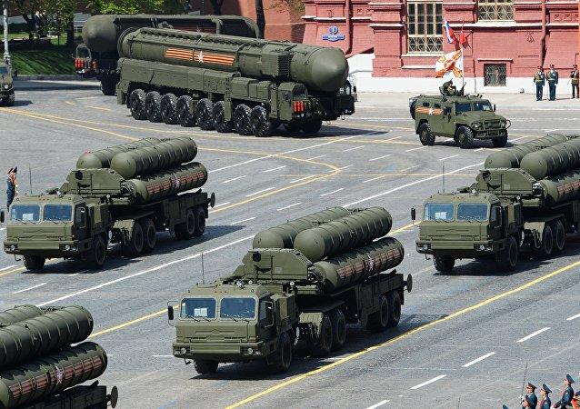 Sistema de lançamento de mísseis S-400 Triumph