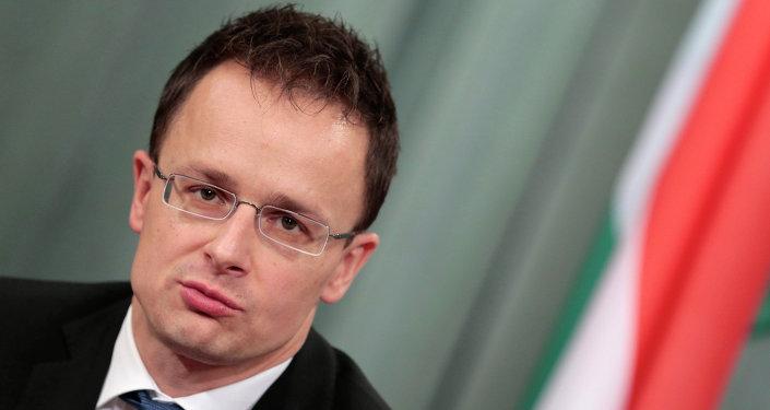 Peter Szijjarto, ministo das Relações Exteriores da Hungria