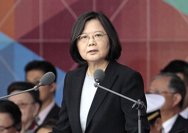 Tsai Ing-wen (foto de arquivo)